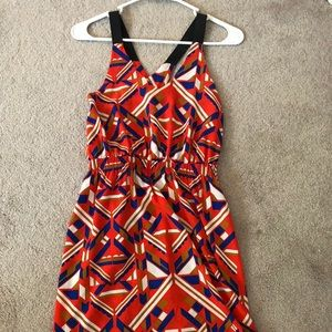 Cute Everly Red Sundress